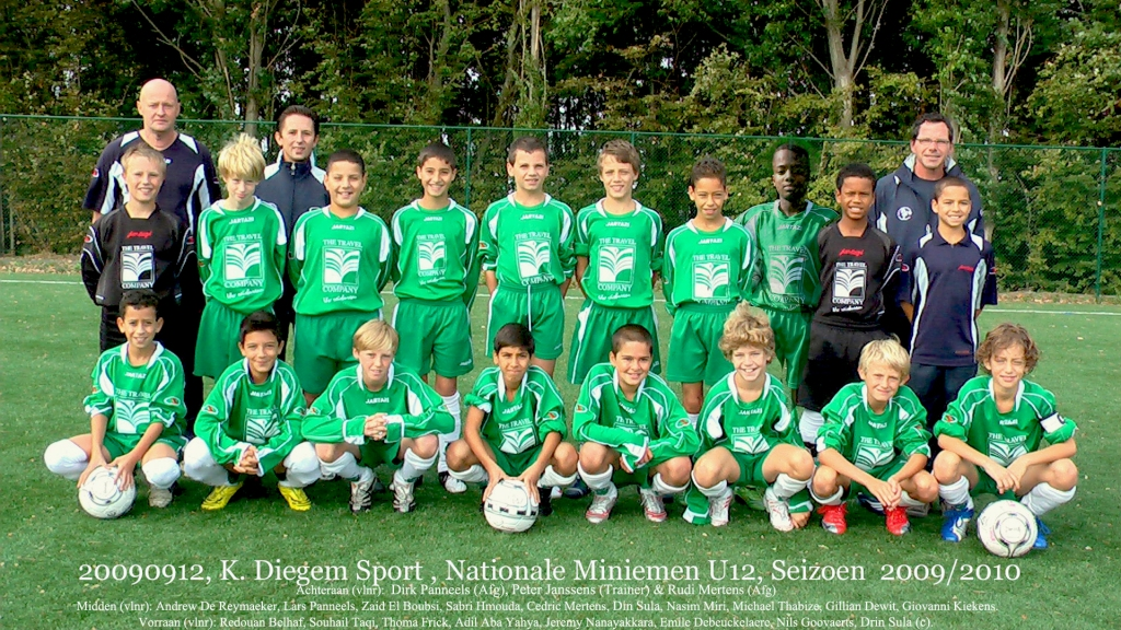 20090912 KDS Miniemen U12 Kampien Seizoen 2009-2010