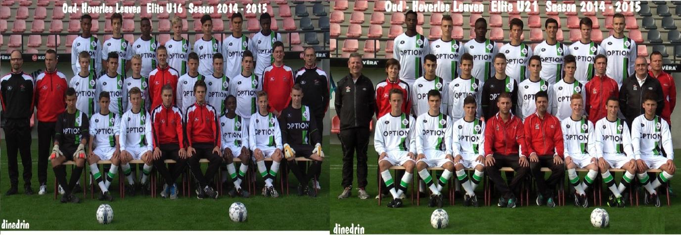 OHL Elite U16 dhe U21 Season 2014-2015.